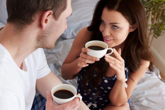 Bringing Virgo Man Coffee In Bed